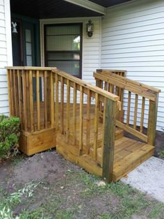 How To Build A Wheelchair Ramp Over Stairs   Google Search | Ramp .