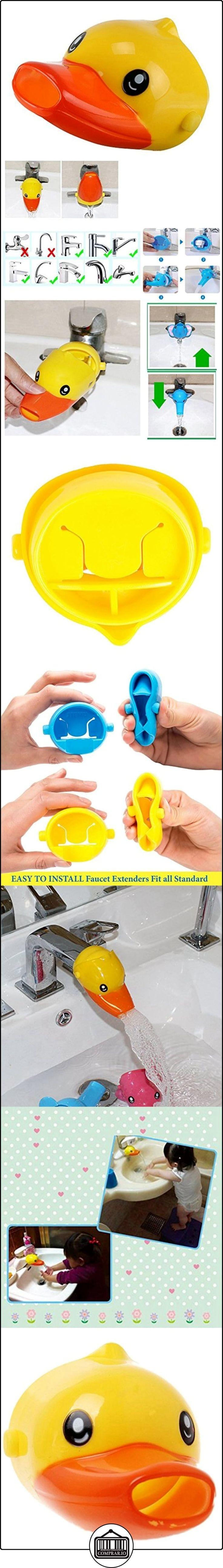 Goldore Baby Niños de dibujos animados para niños grifo Extender el lavado de manos del ayudante, Pato amarillo  ✿ Seguridad para tu bebé - (Protege a tus hijos) ✿ ▬► Ver oferta: http://comprar.io/goto/B01M1FOCN8