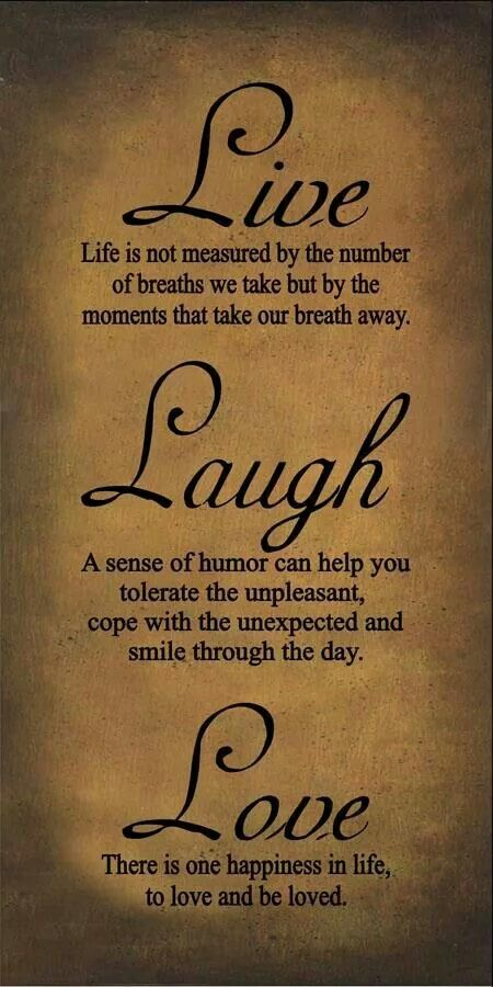 Live Laugh Love Dream Quotes: 32 Best Live Laugh Love Images On Pinterest