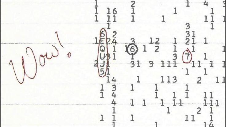 """HALLAN EL ORIGEN DE LA MISTERIOSA SEÑAL """"WOW!"""" Un astrónomo encontró qué causó la famosa frecuencia que pasó a la historia como un posible saludo alienígena. https://goo.gl/j9RPfZ"""