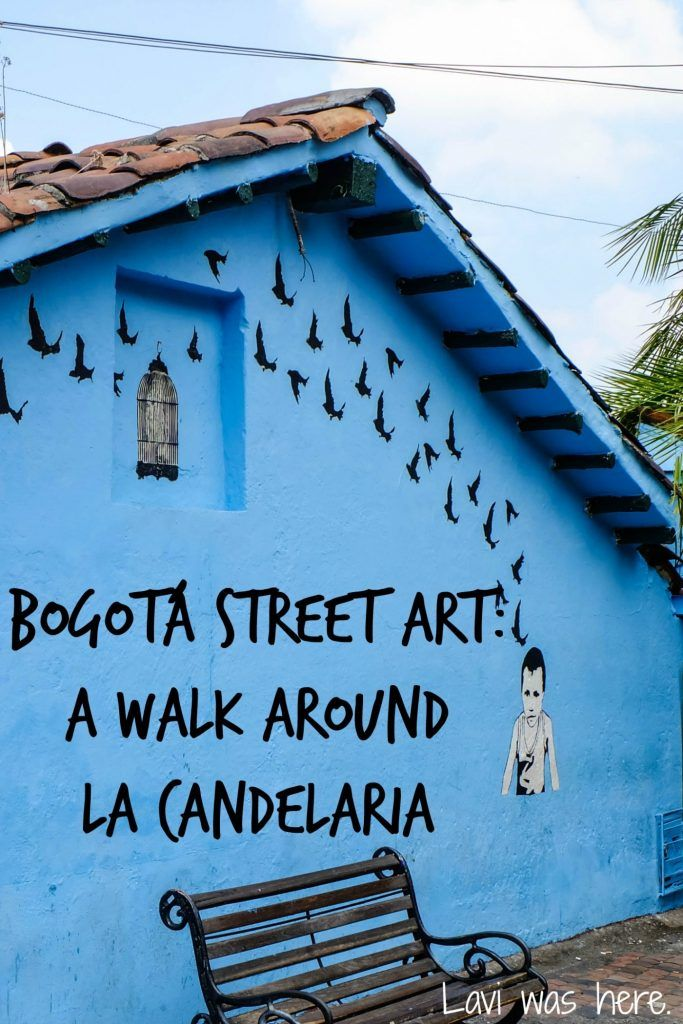 Bogotá Street Art A Walk Around La Candelaria |Street art is so popular these days. I went on a graffiti walking tour in Bogotá to check out the street art around the vibrant La Candelaria district.