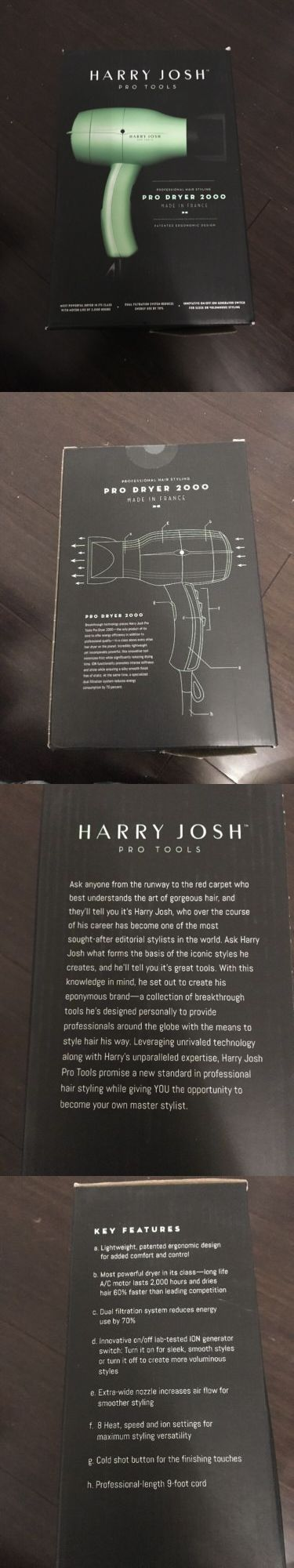 Hair Dryers: Harry Josh Pro Tools Pro Dryer 2000 - Brand New In Box! -> BUY IT NOW ONLY: $238.88 on eBay!