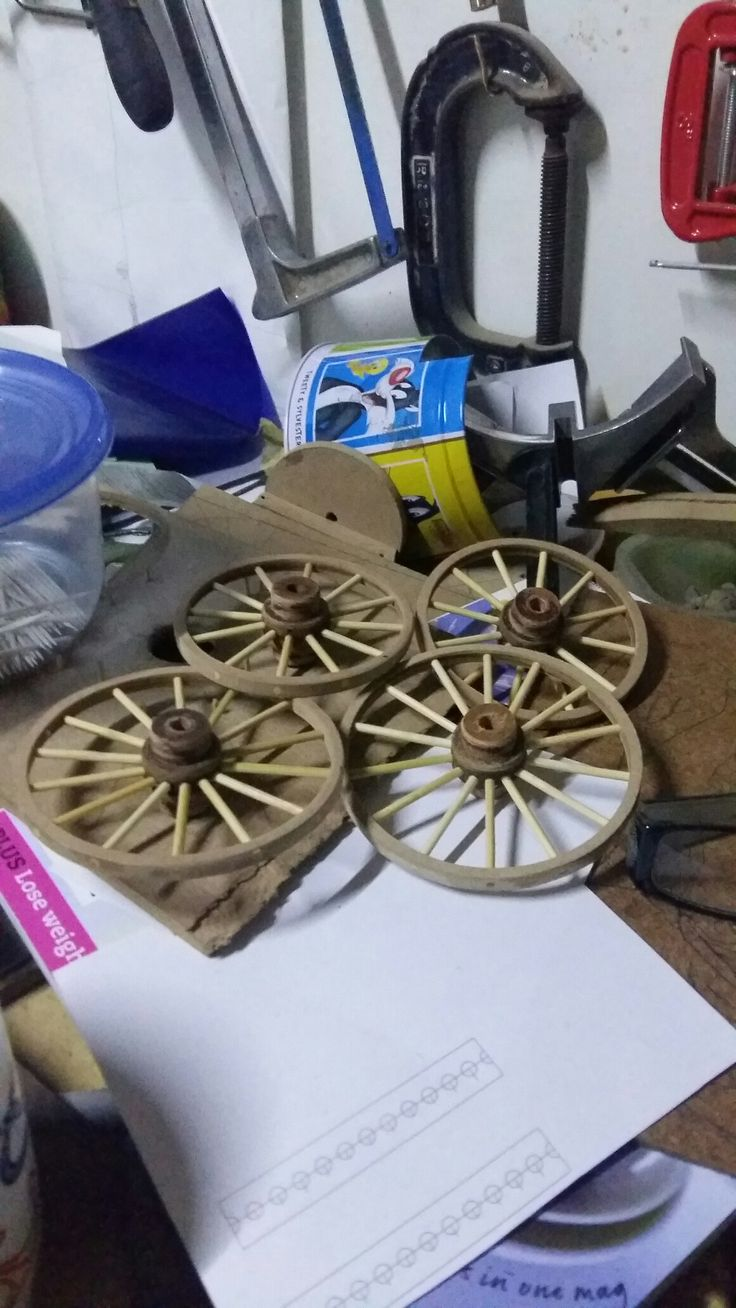 Oxwagon wheels