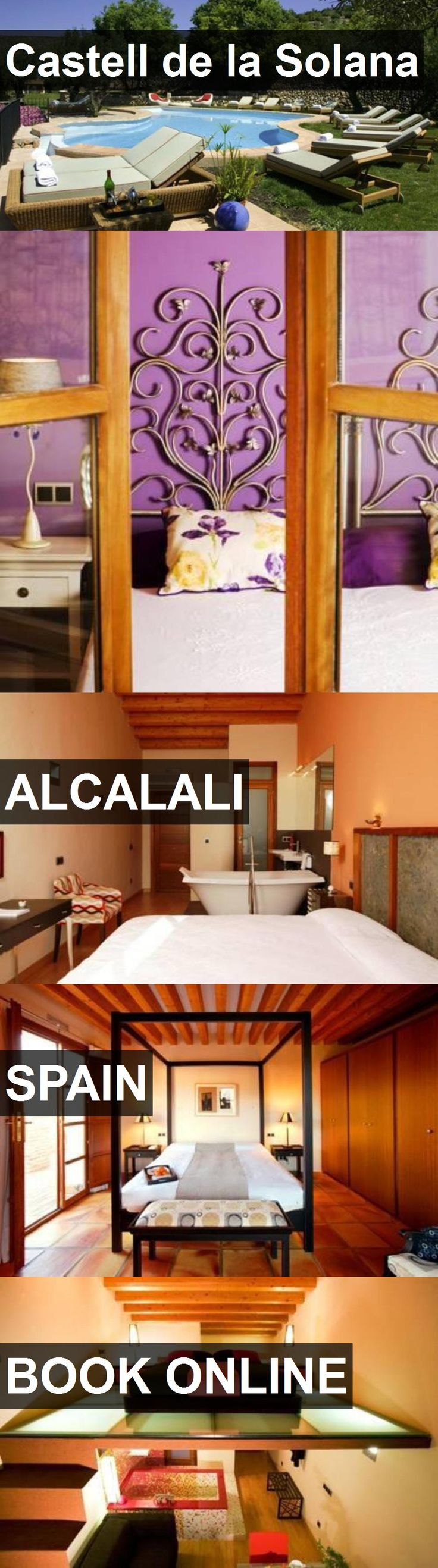 Hotel Castell de la Solana in Alcalali, Spain. For more information, photos, reviews and best prices please follow the link. #Spain #Alcalali #travel #vacation #hotel