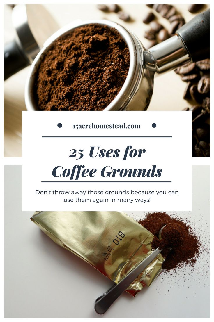 Coffee grounds have more uses than you probably know on your homestead.
