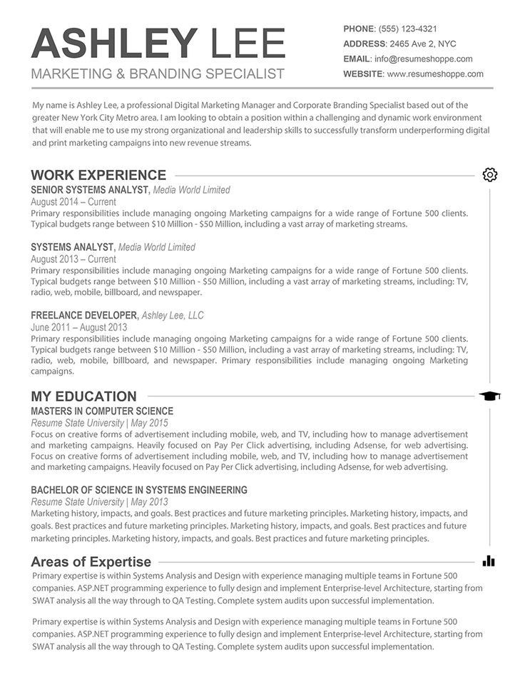 Cv Template Mac Cv Template Resume, Resume template free, Sample