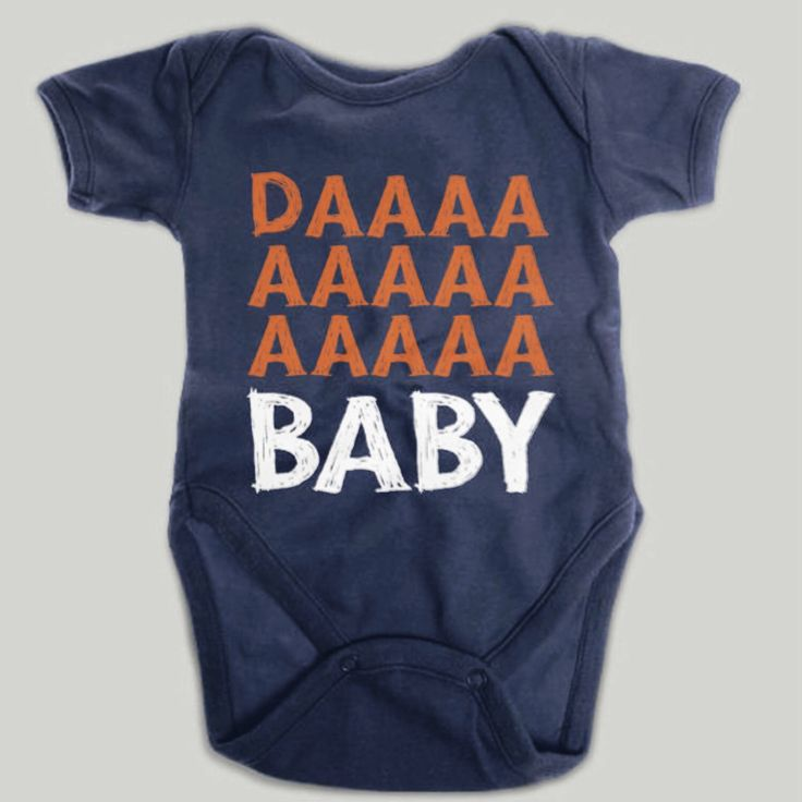Chicago Bears Baby Onesie Infant Shoulder Creeper Daa Baby by chitownclothing on Etsy https://www.etsy.com/listing/199114604/chicago-bears-baby-onesie-infant