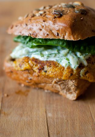 ... Burger on Pinterest | Burgers, Veggie burgers and Black bean burgers