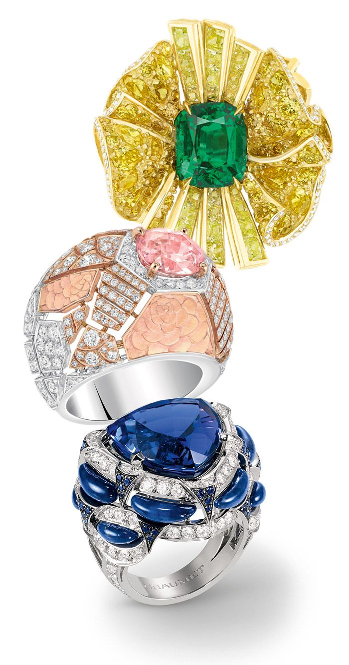 Dior, Chanel and Chaumet cocktail rings