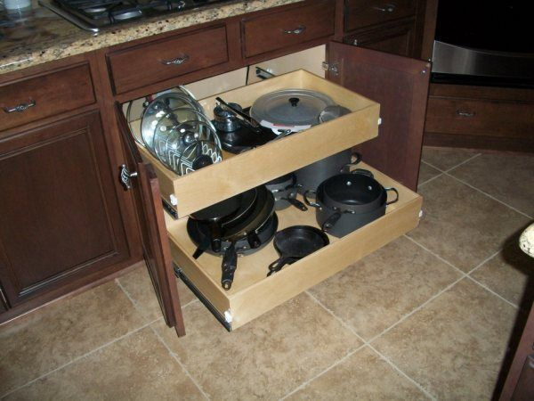 I want drawers in my kitchen....