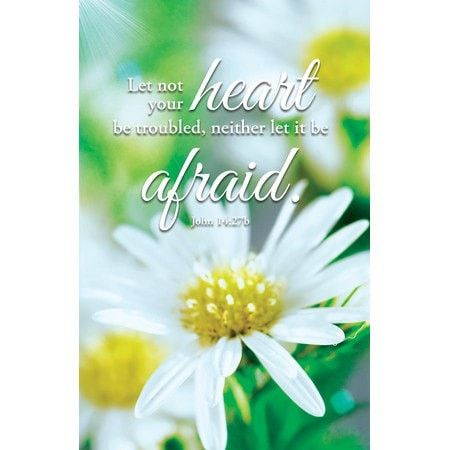 Let Not Your Heart (John 14:27) Bulletins, 100
