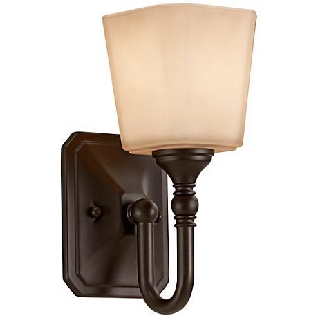 Feiss Concord 10 1 4 High Bronze Wall Sconce