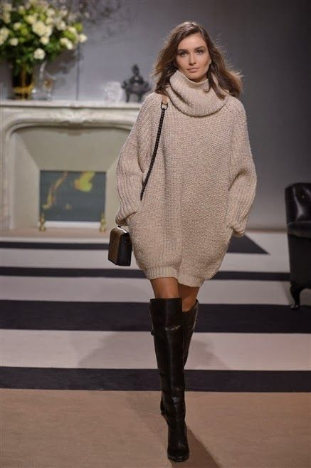 Littlegrigri, le blog: La robe-pull grosse maille sexy et facile