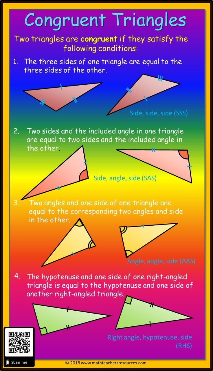 Rules For Proving Triangles Are Congruent Using The Sss Sas Aas And Rhs Rules To Prove Triangle Proving Triangles Congruent Worksheet Template Triangle Rules