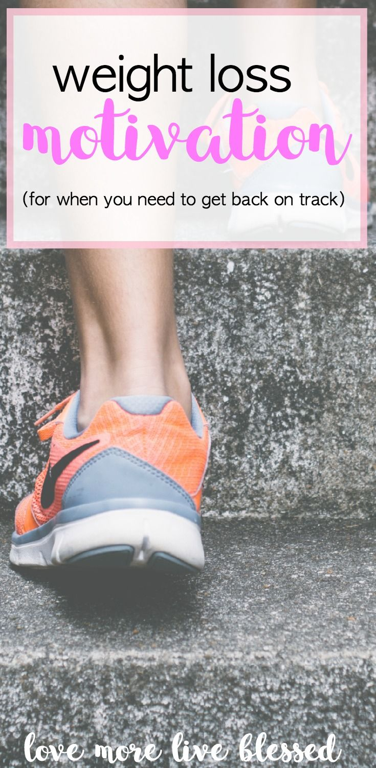 Weight loss motivation for when you need to get back on track. Losing weight can be difficult. These four simple steps can help you find the motivation you need to lose weight! lose weight    easy workouts  