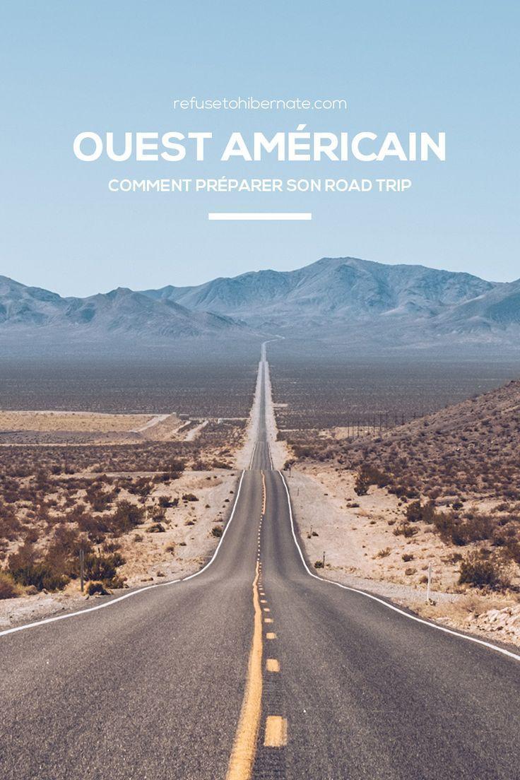 Comment préparer son voyage dans l'Ouest américain ? Construire son itinéraire. La location de voiture. Quelle assurance prendre en voyage ? Les logements dans l'Ouest américain. Où et quoi manger ? #Ouestamericain #USA #Nevada #Californie #Utah #Arizona
