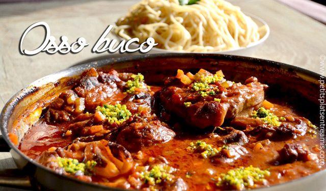 L'osso buco fait partie du patrimoine culinaire italien et plus précisément de la gastronomie milanaise. Cette recette traditionnelle peut s'accompagner depâtes fraîches ou de risotto. Un pl…