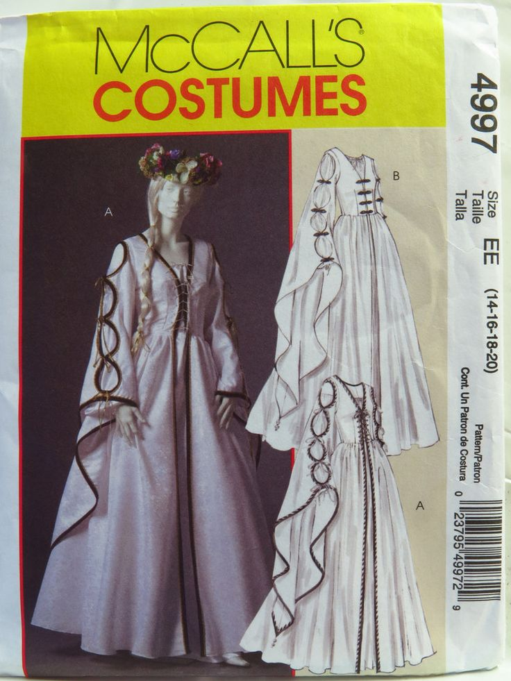 89 best McCall costume patterns images on Pinterest | Kostümmuster ...