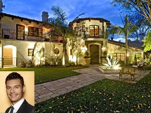 Celebrity Homes Hollywood Home 0 Ryan Seacrest Re Listed Hills Mansion For