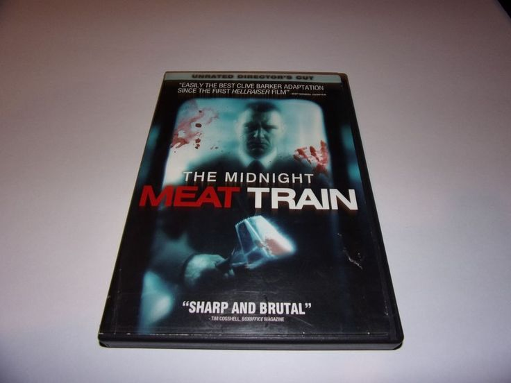 The Midnight Meat Train DVD (Unrated Director's Cut) Horror/ Slasher #Lionsgate