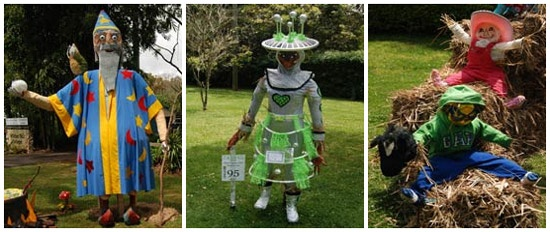 Scarecrows at Mount Tamborine Scarecrow Festival  Make sure you're here for all the fun this weekend on Tamborine Mountain. Do the Scarecrow trail, come to the Bushdance! More info...Lisson Grove Resort 07 55451488