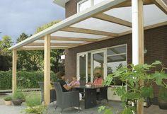 Veranda / terrasoverkapping model 400 afmetingen 400 x 300 cm van Bear County