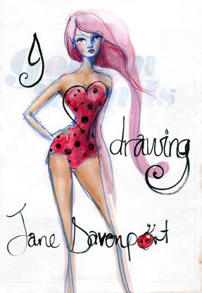 Jane Davenport: I Heart Drawing (completed)