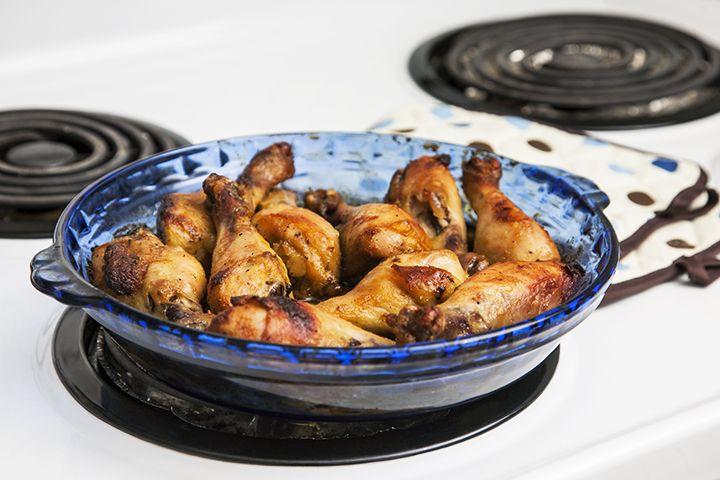 Pilons de poulet barbecue à l'érable #recettesduqc #souper #poulet