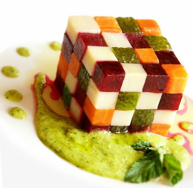 Russian salad - Rubik's Cube