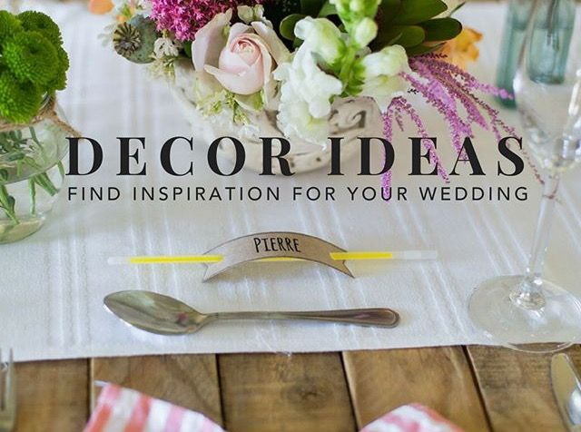 Keep a look out for our blog! We will be featuring some wedding decor trends for 2017!