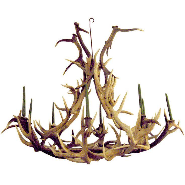 chand: Hunt'S Lodges, Sweet Antlers, Antlers Obsession, Antlers Chandeliers, Antlers Beautiful, Elk Antlers, Antlers Chillin, Men Caves, Basements