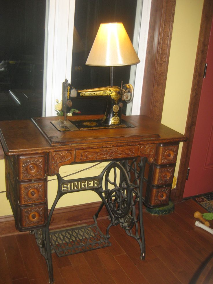 antique sewing machine stands