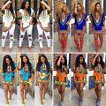 Womens African Dashiki Shirts Kaftan ...