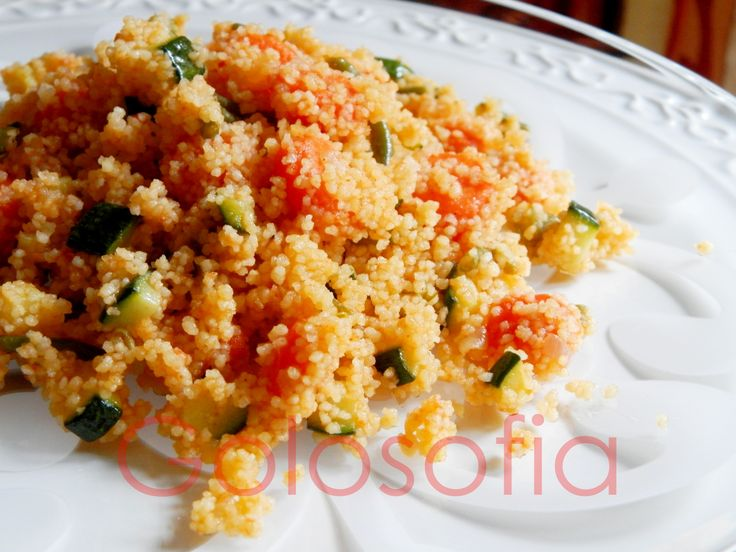 Cous cous vegetariano, ricetta sana e gustosissima a base verdure