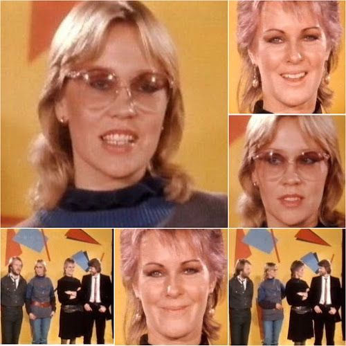 """During Abba's visit to Germany on the 11th November 1982 they filmed a brief interview on """"Thommy's Pop Show"""" after which the video for """"The... #Abba #Agnetha #Frida http://abbafansblog.blogspot.co.uk/2016/11/abba-date-11th-november-1982_10.html"""