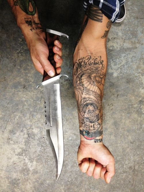 you call that a knife knife tattoos fuckoff twd pinterest sexy tatuajes. Black Bedroom Furniture Sets. Home Design Ideas
