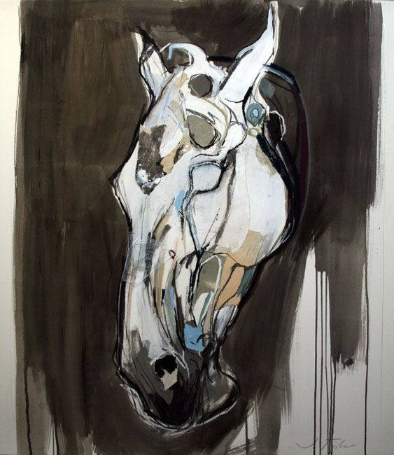 Horse in a Storm. Jo Taylor.