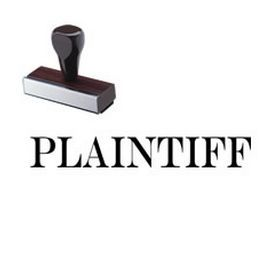 #Plaintiff #Rubber #Stamp. Need a legal stock stamp? Visit our website and order our Regular Rubber 'Plaintiff' Stamp online today from Acorn Sales.