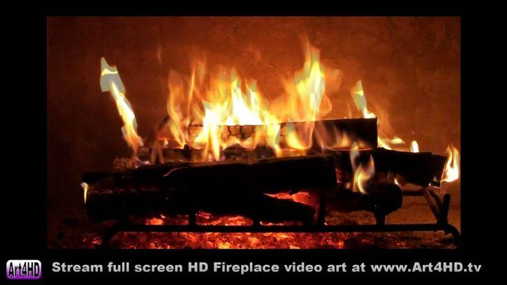 Live Screensavers Fireplace HD | 60 minute HD Fireplace screensaver Art4HD 1080 video TV art - YouTube