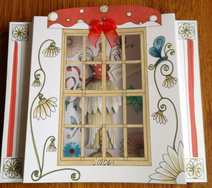 Katy Sue Designs card - Fabulous Fashion by SoSpecial Cards