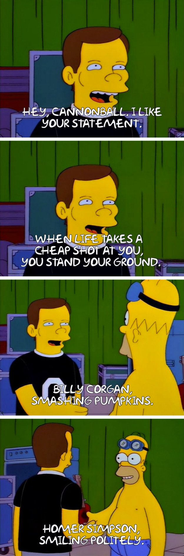"""From """"Homerpalooza"""": 