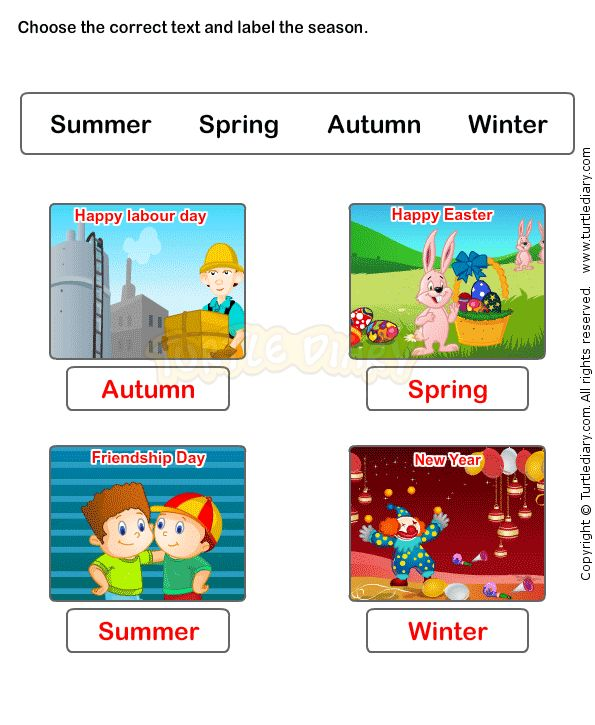 Seasons Worksheet 5 - science Worksheets - kindergarten Worksheets