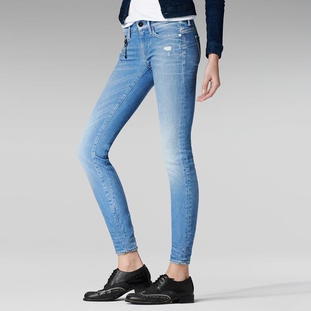 G-Star RAW | Women | Jeans | MIDGE SCULPTED LOW WAIST SKINNY , Comfort