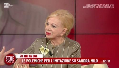 """Spettacoli: #Sandra #Milo contro #l'imitazione di Virginia Raffaele a Storie vere: """"Non è stato un bel num... (link: http://ift.tt/2kYT8CY )"""