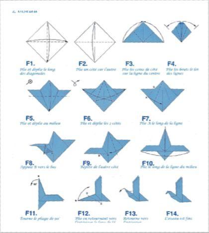 Des oiseaux en origami pour les 5 ans de la librairie – Samedi 29 novembre 2014|Les Oiseaux rares