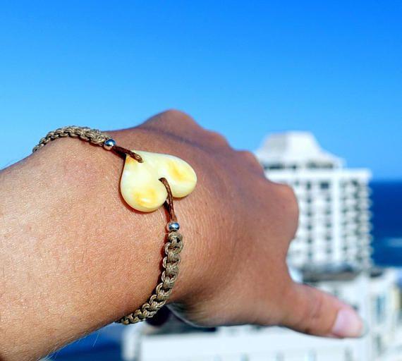 Handwoven Amber Bracelet