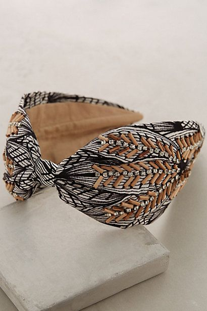 Anthropologie EU Cedar Grove Turban Headband
