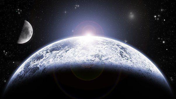 Kuu, Planeetta, Tilaa, Tähtitiede
