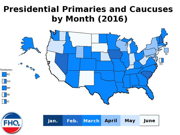Caucus dates 2016