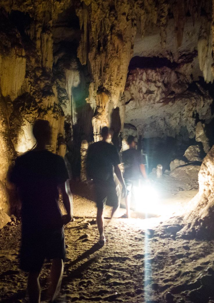 Lod Cave (Tham Lot) in Pai Thailand